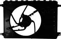 Рамка диффузора радиатора FORD S-MAX 2006-2010 год / I