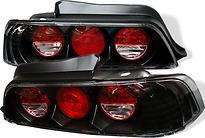Фонарь задний левый+правый (комплект, тюнинг, Lexus тип, внутри черный)  HONDA PRELUDE 1997-2000 год / BB