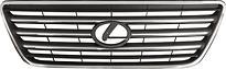 Решетка радиатора  LEXUS GX470 2002-2008 год / J12