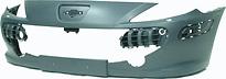 Бампер передний (с отверстиями под омыватели фар)
