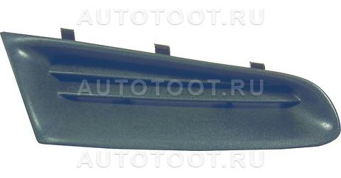 Решетка радиатора правая Renault Clio 2005-2009 год / III