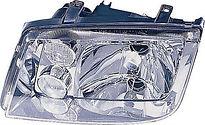Фара левая (под корректор, с противотуманкой) VOLKSWAGEN BORA 1998-2005 год / I