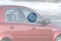 Стекло переднее правое опускное CHEVROLET LACETTI 2004- год / J200 седан