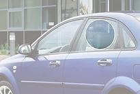 Стекло заднее левое опускное CHEVROLET LACETTI 2004- год / J200 седан