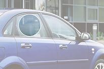Стекло заднее правое опускное CHEVROLET LACETTI 2004- год / J200 седан