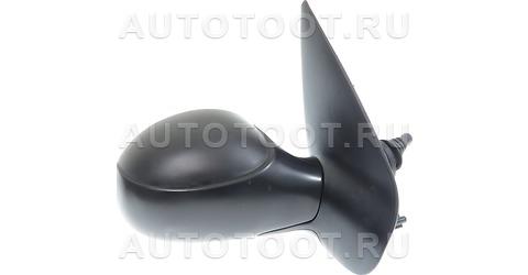 Зеркало правое (механическое, с тросиком) Peugeot 206 1998-2003 год / I