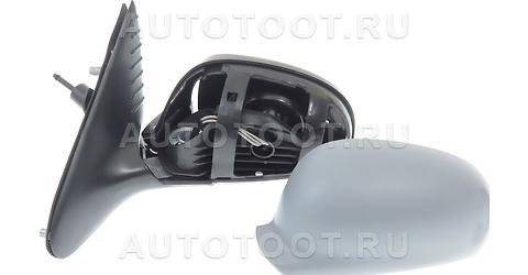 Зеркало левое (механическое, с тросиком) Peugeot 406 1995-1999 год / I
