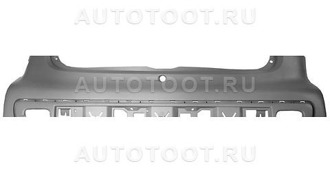 Бампер задний Peugeot 107 2005-2010 год / I