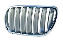 Решетка радиатора левая (хром) BMW X3 2007-2010 год / Е83