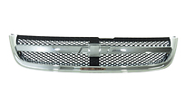 Решетка радиатора (черная с хромом) CHEVROLET LACETTI 2004- год / J200 седан