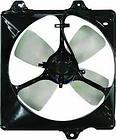 Диффузор радиатора кондиционера в сборе (мотор+рамка+вентилятор) TOYOTA CALDINA 1997-1999 год / Т21