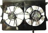Диффузор радиатора охлаждения в сборе (мотор+рамка+вентилятор) TOYOTA WISH 2003-2009 год / E1