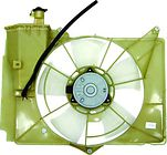 Диффузор радиатора охлаждения (рамка+мотор+вентилятор) TOYOTA PROBOX 2002-2010 год / N, P5