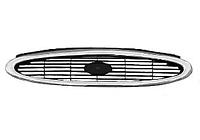 Решетка радиатора (черная с хромом, бензин) FORD MONDEO 1997-2000 год / II
