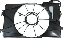 Рамка диффузора радиатора TOYOTA RUNX 2000-2002 год / E120