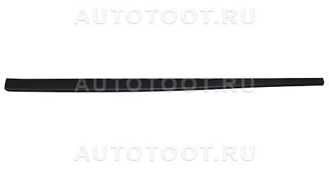 Накладка на порог правая (черная) Renault Duster 2010-2014 год / I