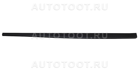 Накладка на порог левая (черная) Renault Duster 2010-2014 год / I