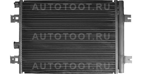 Радиатор кондиционера Renault Logan 2005-2013 год / I