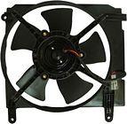 Диффузор радиатора охлаждения в сборе (мотор+рамка+вентилятор) CHEVROLET LANOS 2004-2009 год / J100