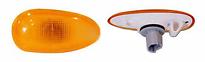 Повторитель поворота в крыло левый+правый (комплект, желтый) CHEVROLET LANOS 2004-2009 год / J100