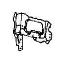 Рамка радиатора левая TOYOTA MARK II 1992-1993 / X90