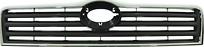 Решетка радиатора (хром, черная) TOYOTA AVENSIS 2003-2006 год / T25