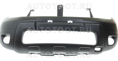 Бампер передний (с отверстиями под противотуманки) Renault Duster 2010-2014 год / I