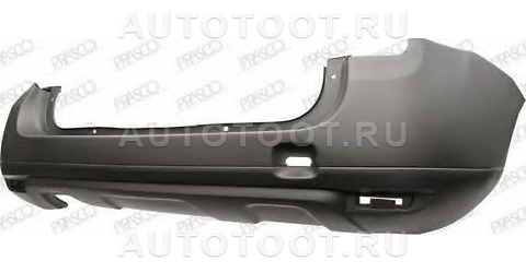 Бампер задний Renault Duster 2010-2014 год / I