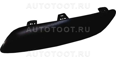 Молдинг переднего бампера левый Peugeot 207 2006-2010 год / I