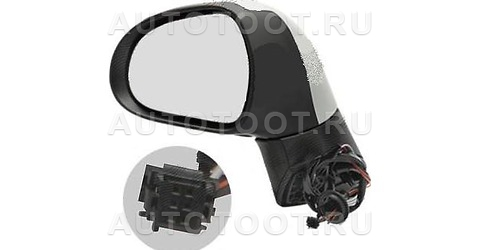 Зеркало левое (электрическое, с подогревом, с указателем поворота) Peugeot 308 2008-2010 год / I