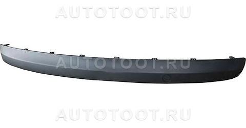 Молдинг заднего бампера Peugeot 207 2006-2010 год / I