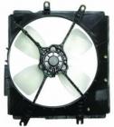 Диффузор радиатора в сборе (рамка+мотор+вентилятор, 1.6L 1.8L MT) MAZDA 323 (FAMILIA) 1989-1991 года BG