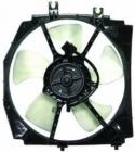 Диффузор радиатора в сборе (мотор+рамка+вентилятор 1.8L AT) MAZDA 323 (FAMILIA) 1994-1996 год / BA