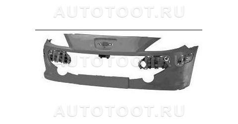 Бампер передний (без отверстий под омыватели фар) Peugeot 307 2005-2008 год / I