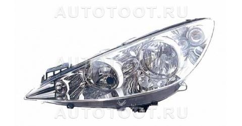 Фара левая (с элетрокорректором) Peugeot 308 2008-2010 год / I