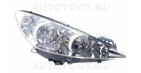 Фара правая (с элетрокорректором) Peugeot 308 2008-2010 год / I