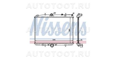 Радиатор охлаждения AT 2.0L Peugeot 406 1999-2004 год / I