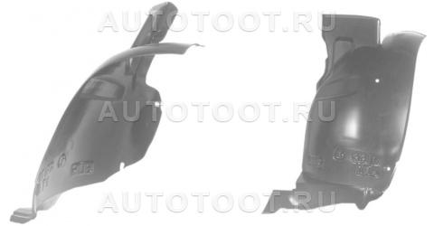 Подкрылок переднего крыла правый задняя часть Peugeot 406 1999-2004 год / I