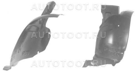 Подкрылок переднего крыла левый задняя часть Peugeot 406 1999-2004 год / I