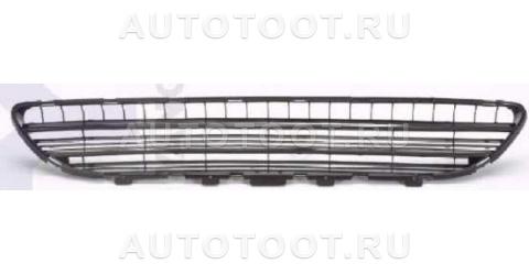 Решетка переднего бампера центральная Peugeot 406 1995-1999 год / I