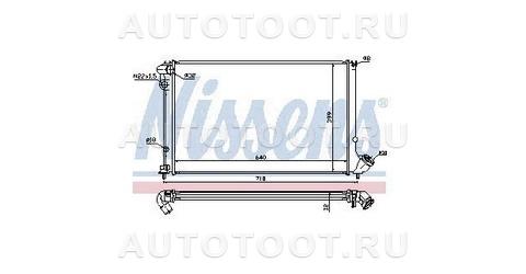 Радиатор охлаждения Peugeot 406 1995-1999 год / I