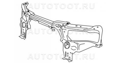 Балка суппорта радиатора верхняя Peugeot 406 1995-1999 год / I
