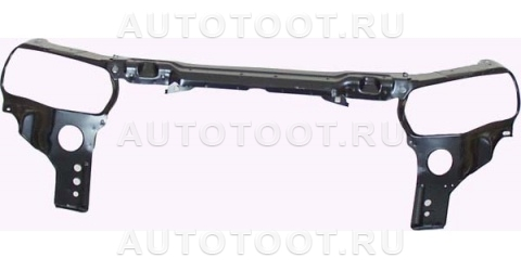 Балка суппорта радиатора верхняя (в сборе, с креплениями под 2 фары) Peugeot 406 1995-1999 год / I