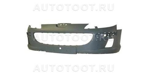 Бампер передний (без отверстий под омыватели) Peugeot 407 2004-2008 год / I