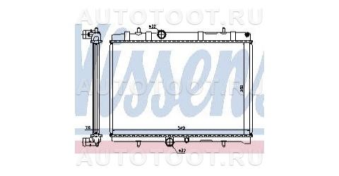 Радиатор охлаждения Peugeot 407 2004-2008 год / I