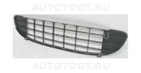 Решетка переднего бампера центральная Peugeot 407 2004-2008 год / I