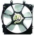 Диффузор радиатора охлаждения в сборе (рамка+мотор+вентилятор, AT) MAZDA CRONOS 1991-1996 год / GE