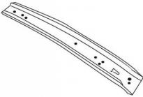 Усилитель переднего бампера  VOLVO 850  1994-1996 год / II