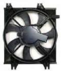 Диффузор радиатора кондиционера МТ (рамка+мотор+вентилятор) HYUNDAI ACCENT 2000-2002 год / II