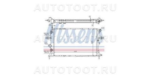 Радиатор охлаждения Opel Zafira  2005-2007 год / B